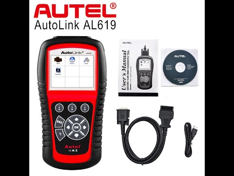 How To Solve Your ABS/SRS Issues Quickly With The Autel AutoLink AL619 Scan Tool.