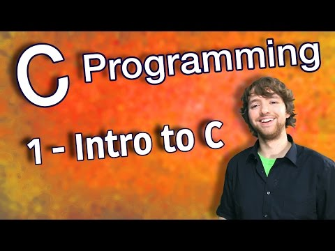 C Programming Tutorial 1 - Intro to C