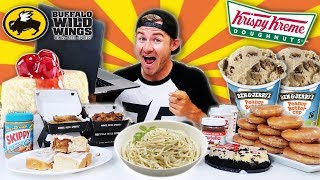 THE ALL AMERICAN LIVE FOODSTREAM! (15,000+ CALORIES)