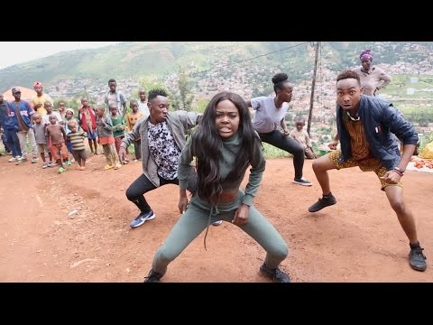 Sherrie Silver - African Squat Challenge Dance Choreography | #AfricanSquatChallenge