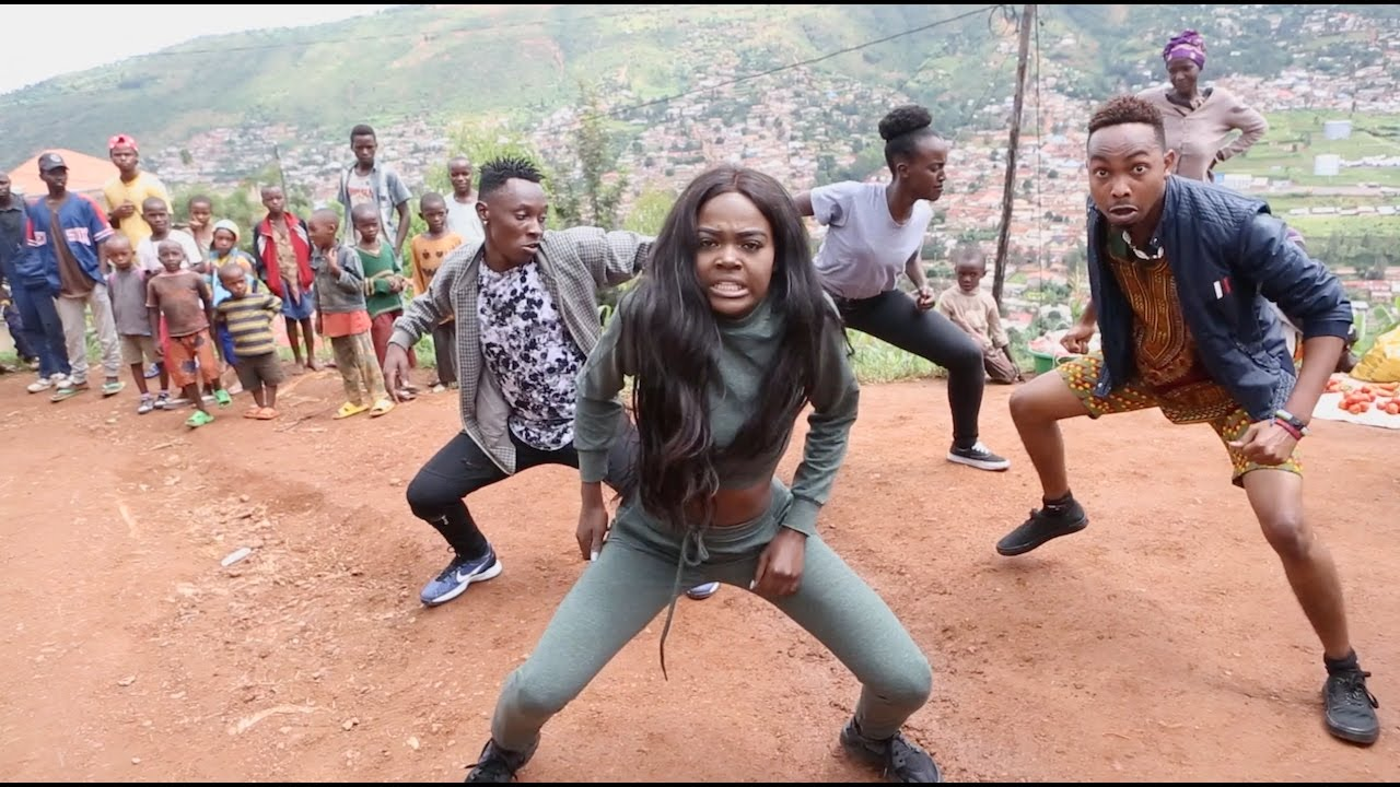 Sherrie Silver - African Squat Challenge Dance Choreography | #AfricanSquatChallenge #1