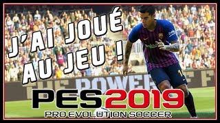 J'AI JOUÉ À PES 2019 CHEZ KONAMI !!!