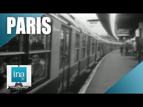 Les transports publics à Paris en 1971 | Archive INA