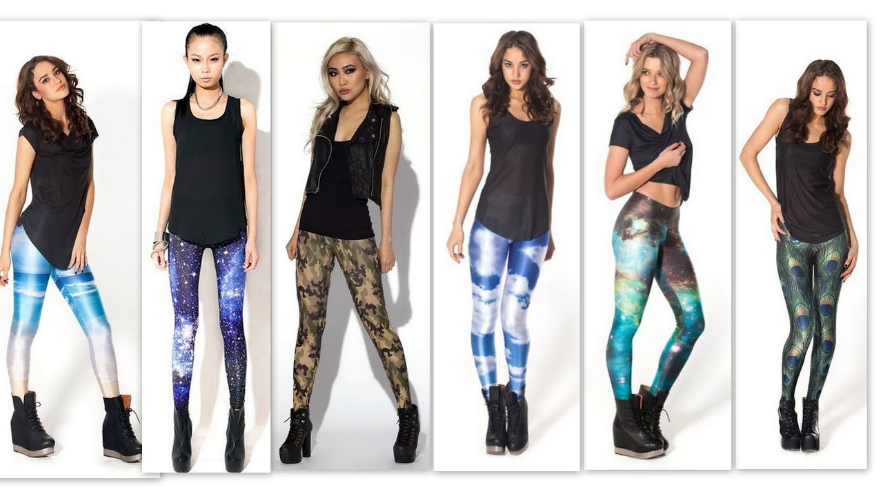 Leggings Fashion How To Wear Leggings In Different Styles Fashion Compilation 1080p Full Hd