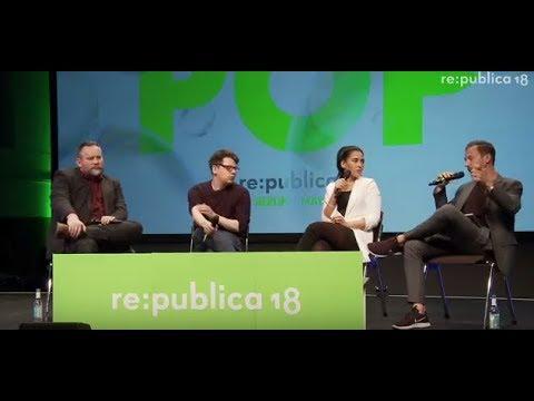 re:publica 2018 – Eröffnungspanel: Die Revolution disst ihre Kinder