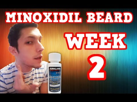 Minoxidil Beard | Week 2 | The Experiment |  #Facialfuzzfridays|