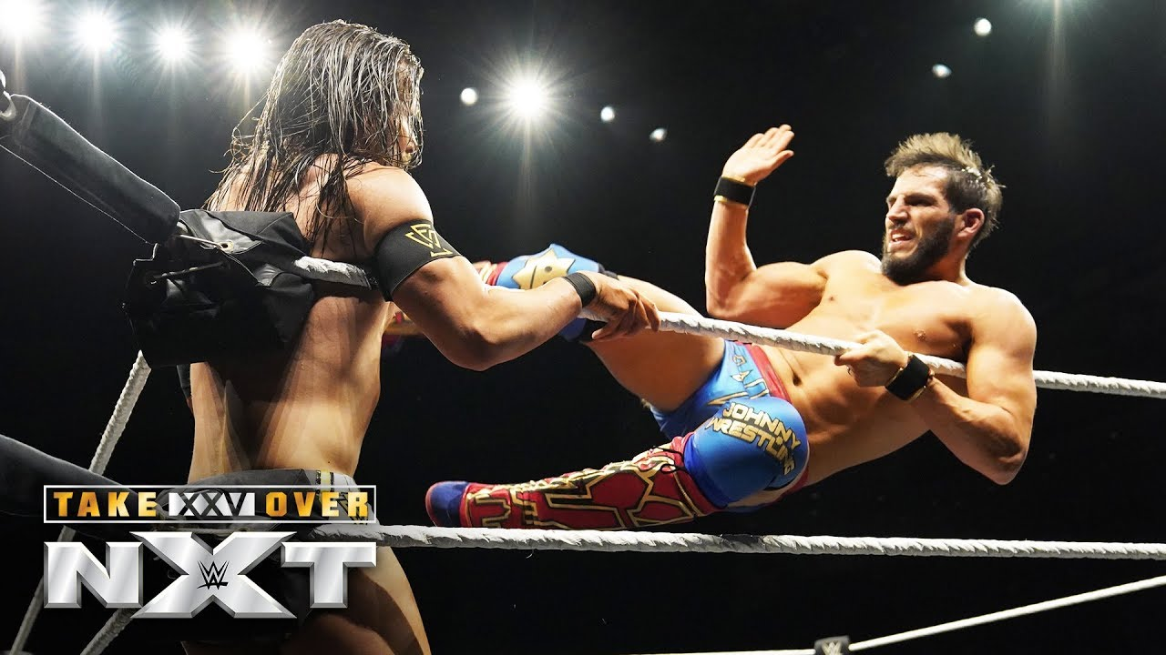 Johnny Gargano clashes with Adam Cole in epic battle: NXT TakeOver: XXV