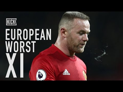 Wayne Rooney Captains Our European Worst XI!