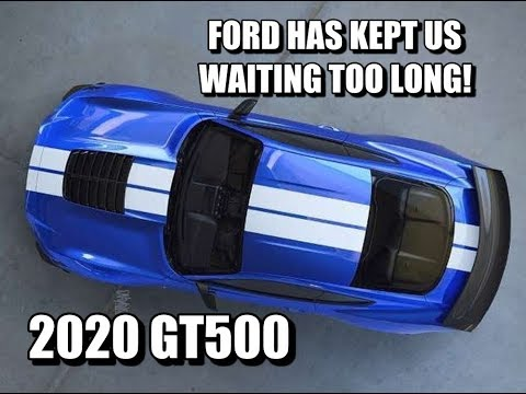 Here's WHY the 2020 Shelby GT500 is ALREADY a FLOP!!