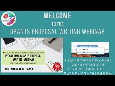 yes-alumni-grants-proposal-writing-webinar-2018