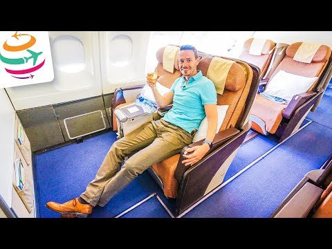 Philippine Airlines Business Class (ENG) A340-300 | GlobalTraveler.TV