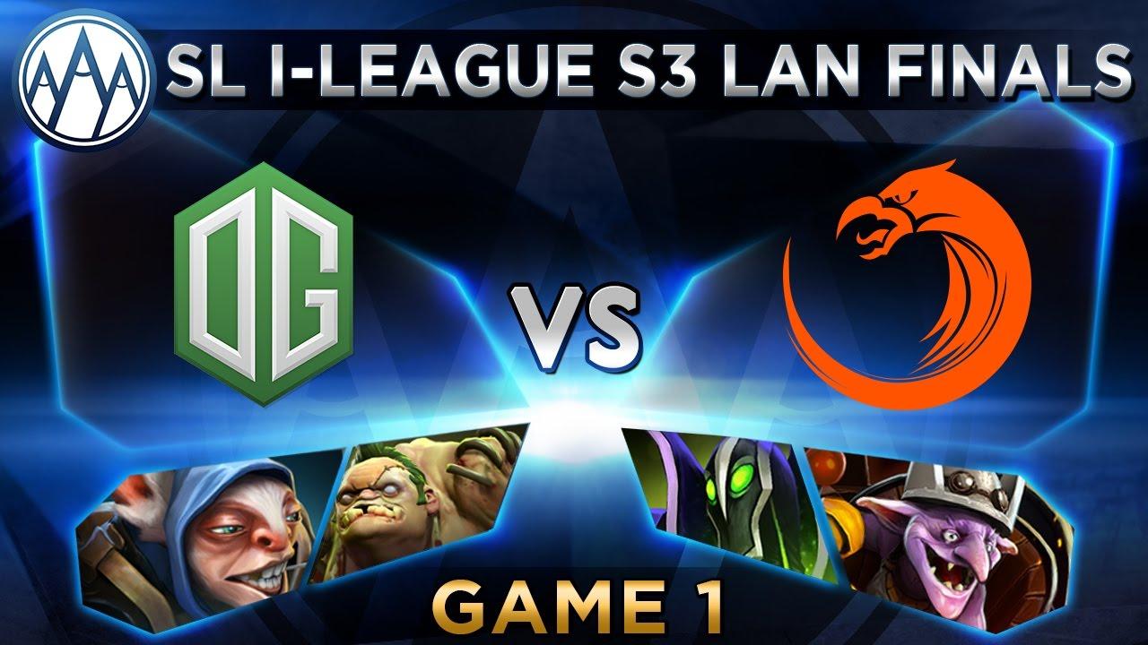 OG vs TNC Game 1 - SL i-League StarSeries S3 LAN Finals - @ODPixel @Merlini