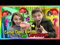 HUGE COTTON CANDY BURRITOS WITH LADYBUGS! | We Are The Davises