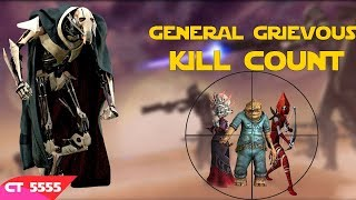 Star Wars General Grievous Kill Count