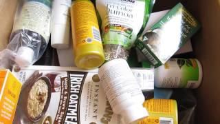 iHerb Unboxing Косметика. БАДы для волос. Посылка №3 за март 2017
