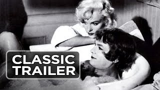 Some Like It Hot Official Trailer #1 - Marilyn Monroe Movie (1959) HD