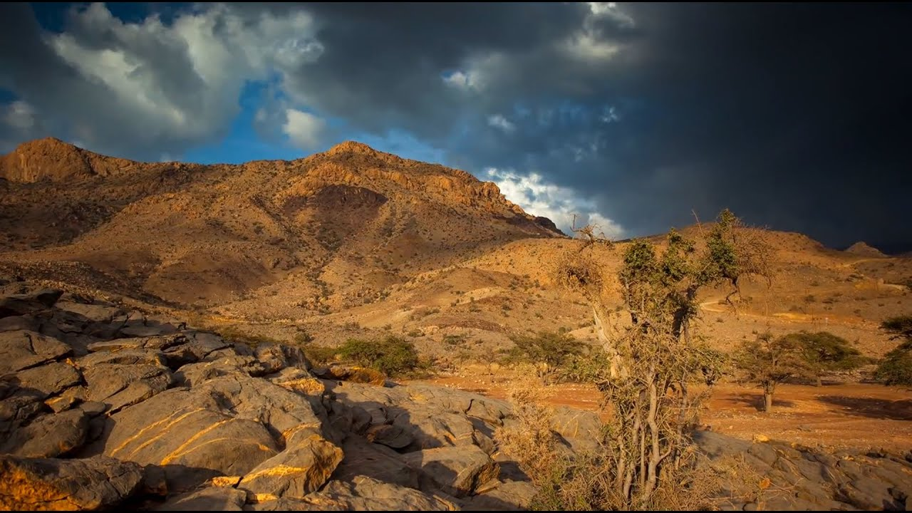 jebel - amazing landscape of