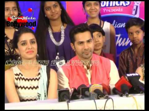 Shraddha Kapoor & Varun Dhawan on 'Indian Idol Junior 2' Auditions for their promotions of 'ABCD 2'