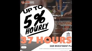 COINSHASH STILL PAYING - WILL THIS BE ANOTHER WINNER??
