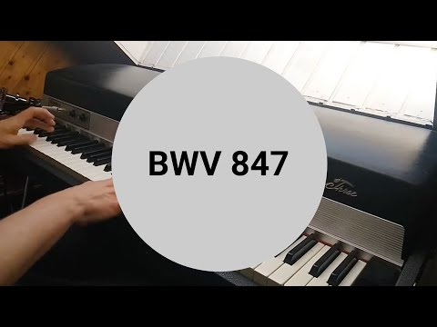 Bach, Well Tempered Clavier, Part 1, Fugue no 2 in C Minor, BWV 847из YouTube · Длительность: 1 мин39 с