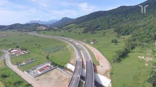 Contorno Viário da Grande Florianópolis está com 70% das obras em andamento