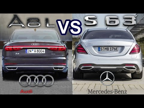 2019 Audi A8 VS 2019 Mercedes S-Class - LUXURY