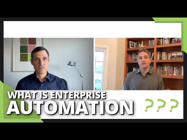 What is enterprise automation: tech breakdown - #AskAVC 24