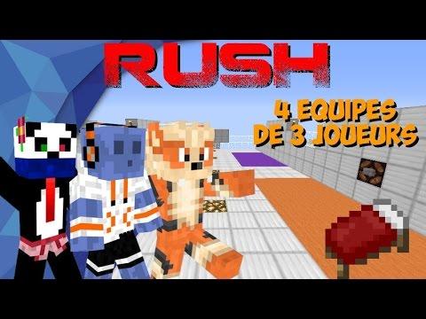 Minecraft PVP | Rush 4 Equipes • Avec Seyhial & Fukano