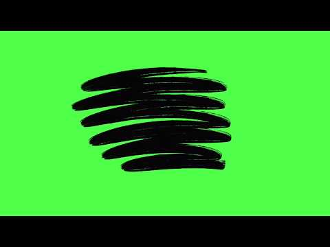 Paint Title Green Screen Animation Gabrielle Marie