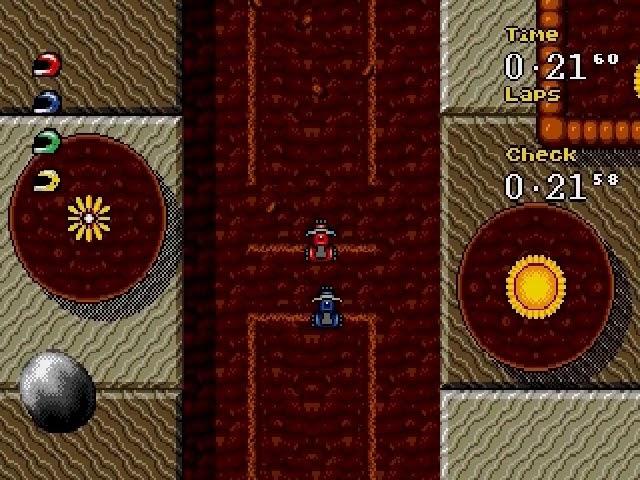 Jouez à Micro Machines 2 sur Sega Megadrive avec nos Consoles et Bartops Retrogaming