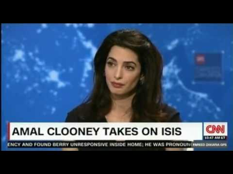 Amal Clooney, Yazidi rape victim demand...