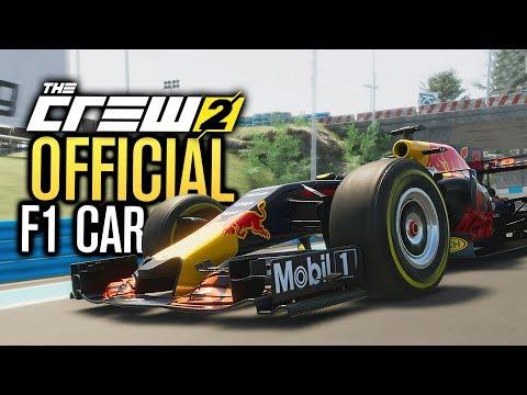 OFFICIAL F1 CAR... FREEROAM?   The Crew 2 Gameplay