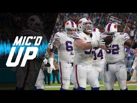 Buffalo Bills Mic'd Up vs. Dolphins Ending Longest Playoff Drought in NFL   NFL Sound FX