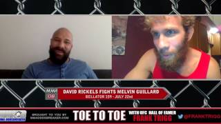 Bellator 159's David Rickels: 'I'm planning for the best Melvin Guillard'