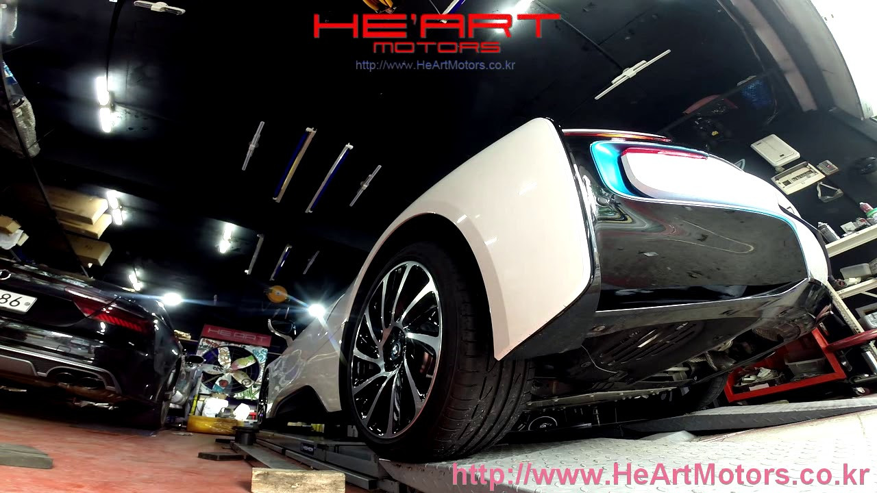 Bmw I8 He Art Exhaust System Youtube