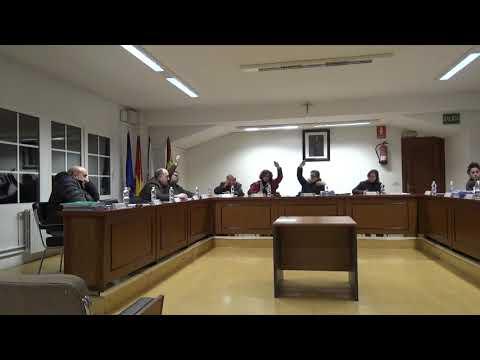 Pleno Ordinario do Concello de Santa Comba (25 - 01 - 2019)