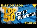 Destiny TOP 50 Exotic Weapons Ranking Them ALL mp3