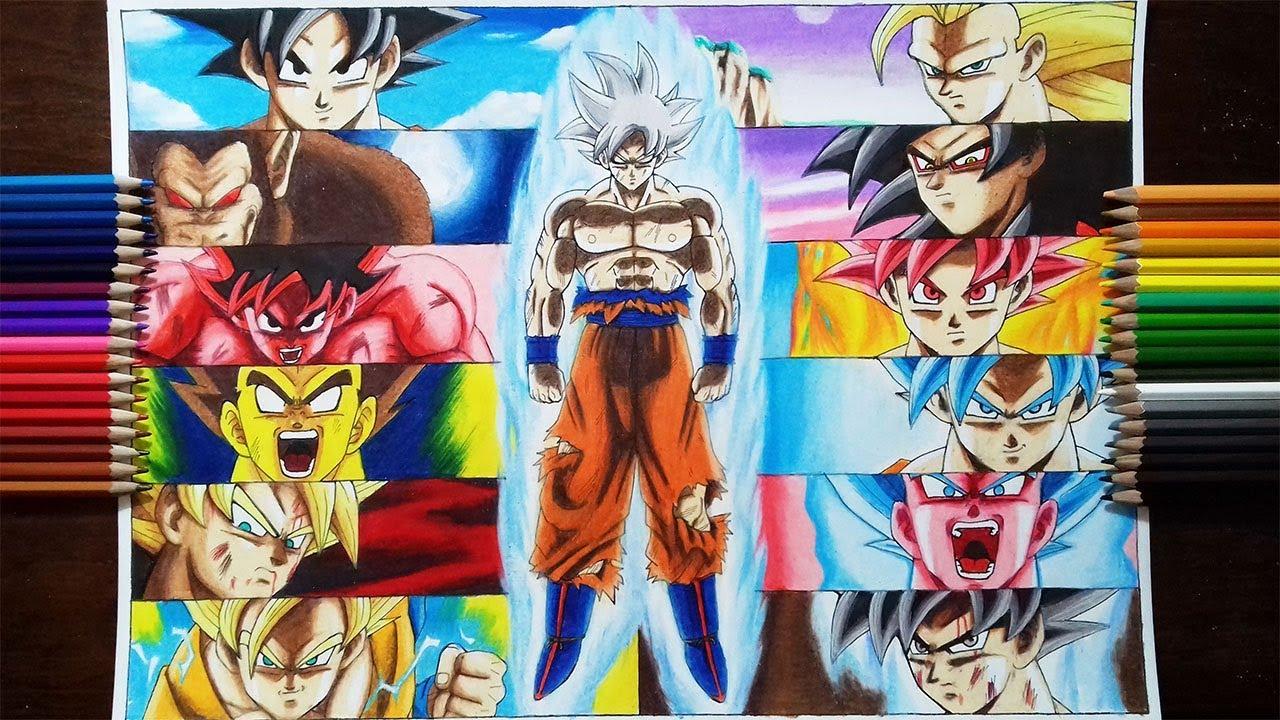 Drawing Son Goku #1