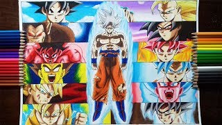 Drawing Son Goku
