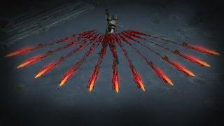 Path of Exile - Demonic Split Arrow Skill Effect