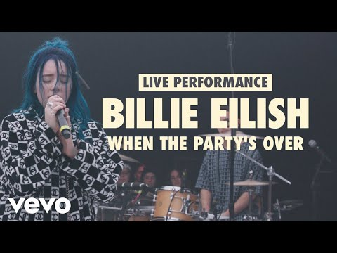 Billie Eilish - when the party's over (Vevo LIFT Live Sessions)