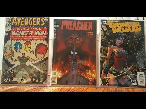 COMIC BOOK HAUL 55 (LONG OVER DUE VIDEO!)