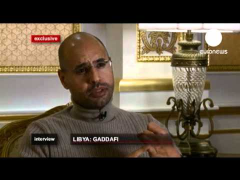 Exclusive  Saif al Gaddafi 'wants money back from Sarkozy'   euronews, world news