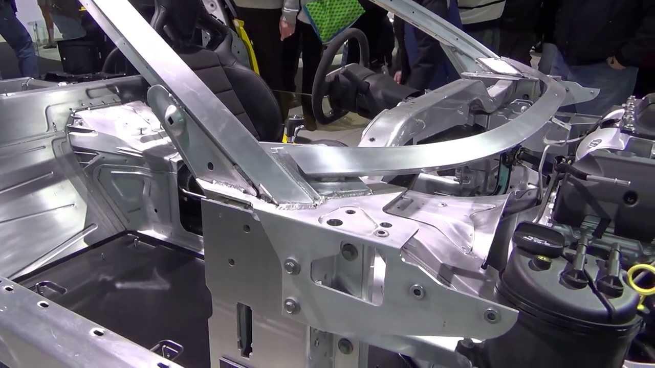 2015 Corvette Stingray Chassis Walkaround Youtube