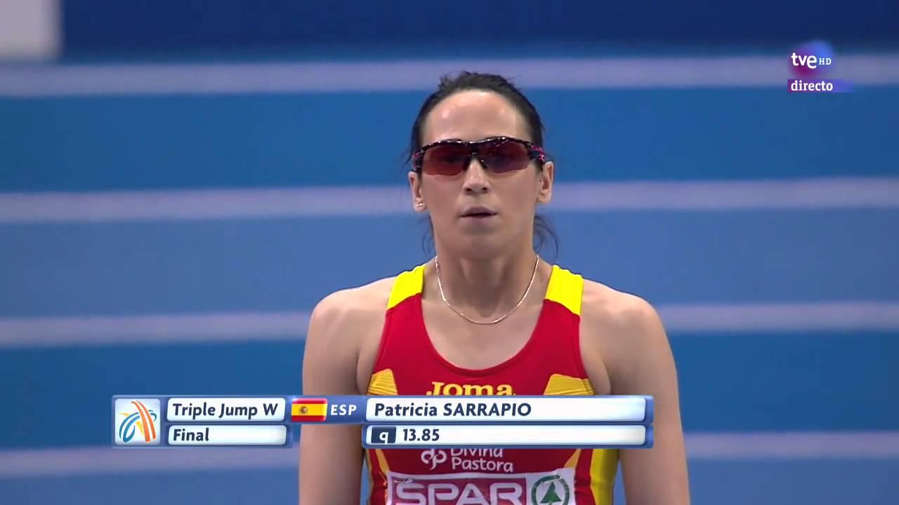 Patricia Sarrapio Patricia Sarrapio primero y sexto saltos en Goteborg 2013
