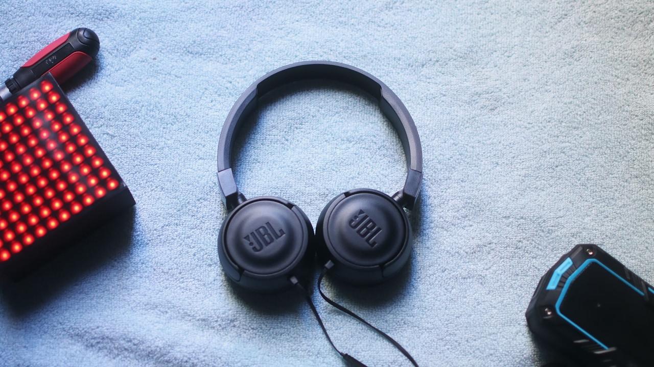 ca31881d432 JBL T450 Headphones Review. - YouTube