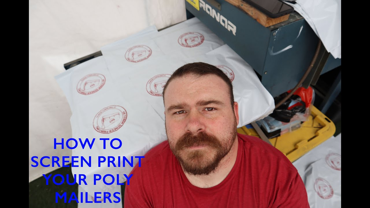 Download HOW TO SCREEN PRINT POLY MAILERS