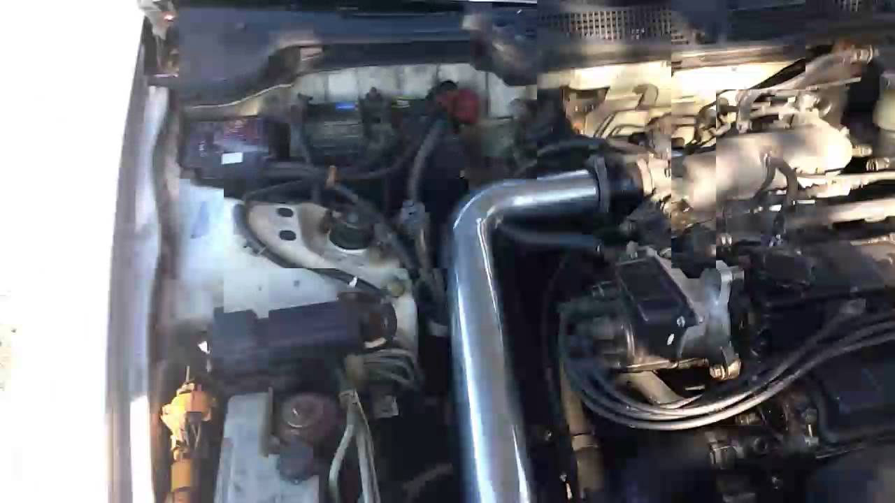 Integra Cold Air Intake Installed With Revs YouTube - Acura integra cold air intake