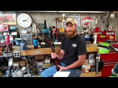 (RARE) Marlin Model 37, Pump Action 22 Rifle.