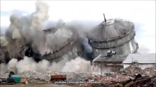 Подрыв домов, снос, разрушения и демонтаж 1 часть(Нарезка разрушений зданий - запланированные и незапланированные со всего мира! Посмотрите как серия взрыв..., 2015-11-04T12:20:25.000Z)